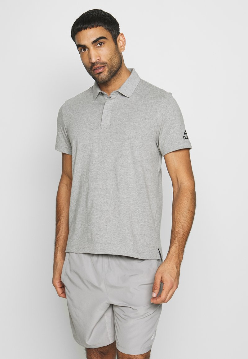 adidas Performance - PLAIN - Polotričko - grey