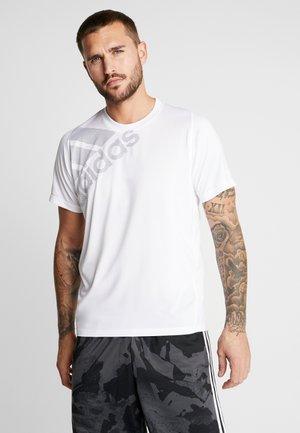 T-shirt print - white/tech ink