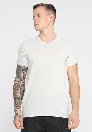 TEE  - Print T-shirt - raw white