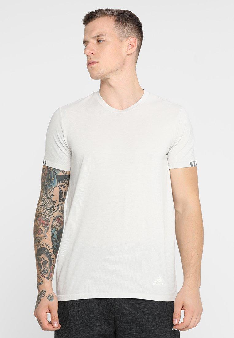 adidas Performance - TEE  - T-Shirt print - raw white