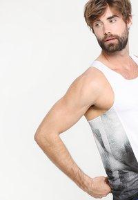 adidas Performance - SINGLET - Sports shirt - white/black - 3