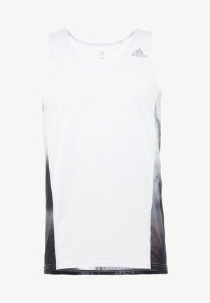SINGLET - Funktionstrøjer - white/black