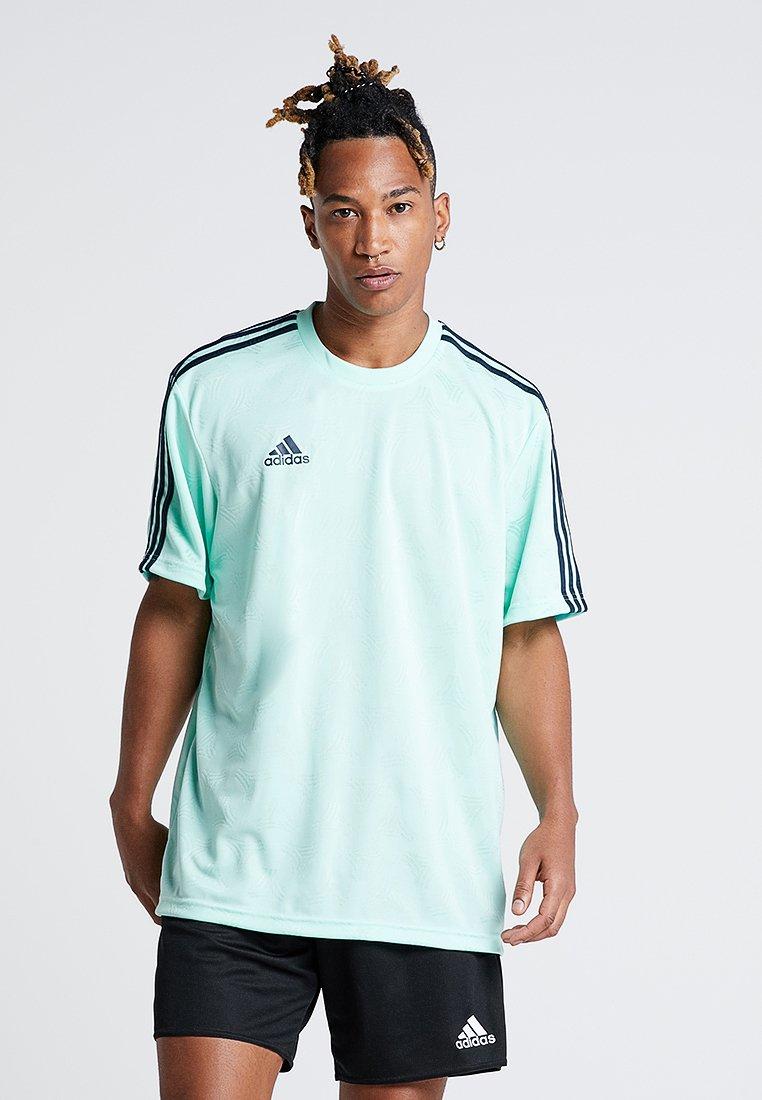 adidas Performance - TAN  - T-shirt print - clear mint