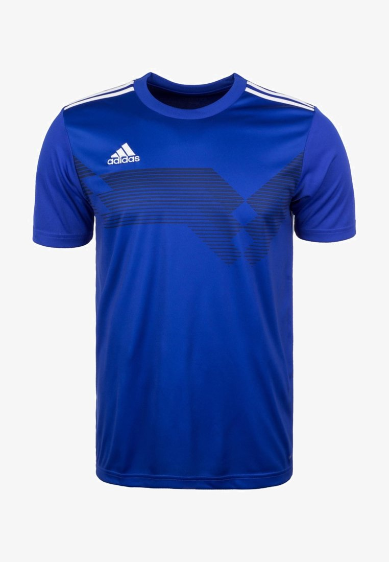 adidas Performance - CAMPEON 19 JERSEY - T-shirt con stampa - blue