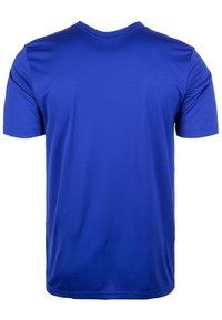 adidas Performance - CAMPEON 19 JERSEY - Print T-shirt - blue - 1