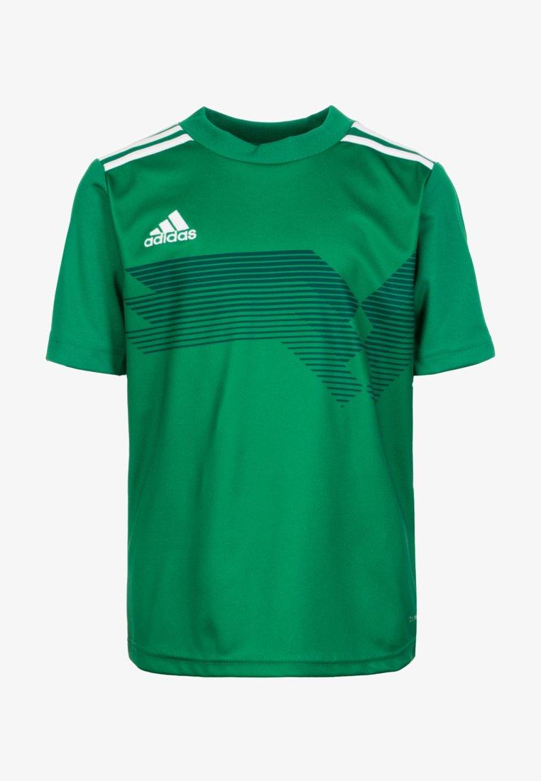 adidas Performance - CAMPEON 19 JERSEY - Printtipaita - green