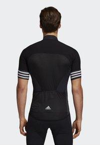 adidas Performance - ADISTAR CYCLING JERSEY - T-Shirt print - black - 1