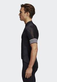 adidas Performance - ADISTAR CYCLING JERSEY - T-Shirt print - black - 2