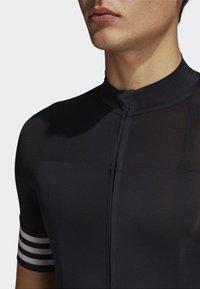 adidas Performance - ADISTAR CYCLING JERSEY - T-Shirt print - black - 3