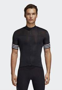 adidas Performance - ADISTAR CYCLING JERSEY - T-Shirt print - black - 0