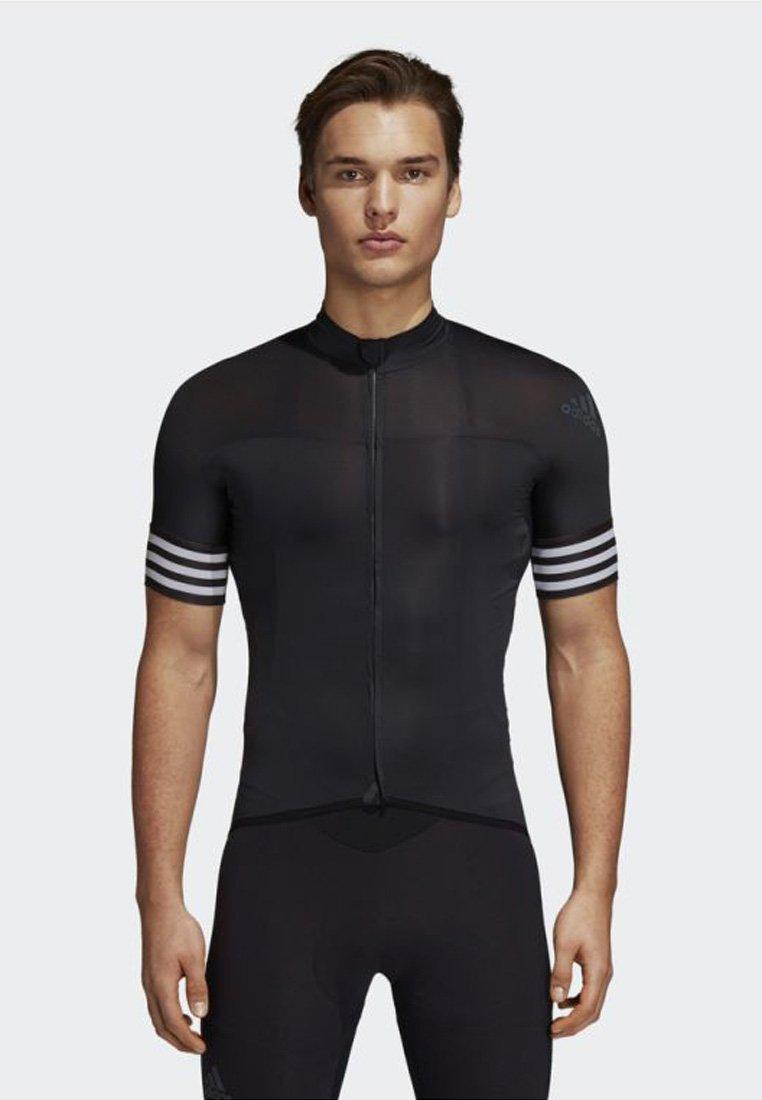 adidas Performance - ADISTAR CYCLING JERSEY - T-Shirt print - black