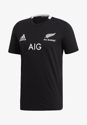 ALL BLACKS HOME T-SHIRT - Landsholdstrøjer - black