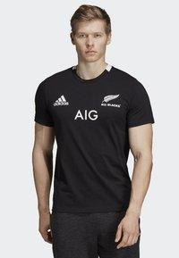 adidas Performance - ALL BLACKS HOME T-SHIRT - Voetbalshirt - Land - black - 0