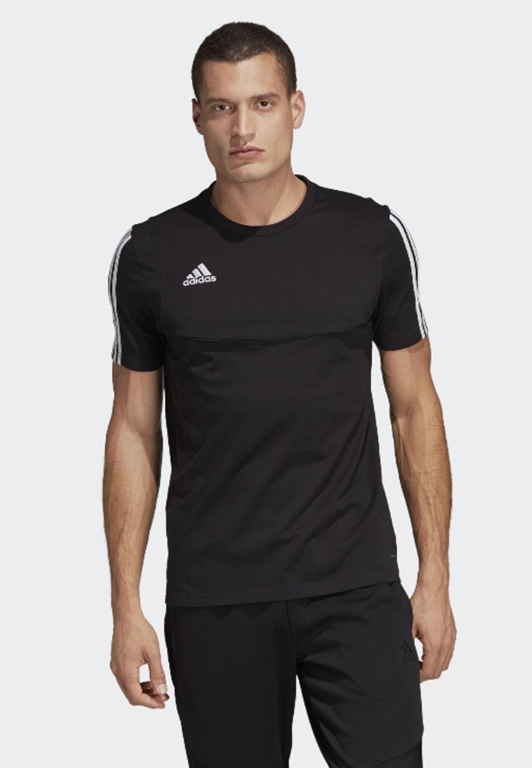 adidas Performance - Tiro 19 Tee - T-shirt med print - black