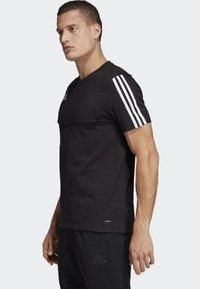 adidas Performance - Tiro 19 Tee - T-shirt med print - black - 2