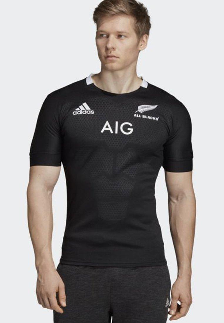 adidas Performance - ALL BLACKS HOME JERSEY - Squadra nazionale - black