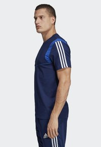 adidas Performance - TIRO 19 T-SHIRT - T-shirt med print - blue - 2