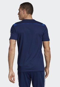 adidas Performance - TIRO 19 T-SHIRT - T-shirt med print - blue - 1