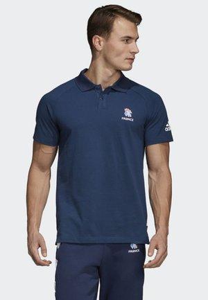 French Handball Federation Polo Shirt - Voetbalshirt - Land - blue/ white