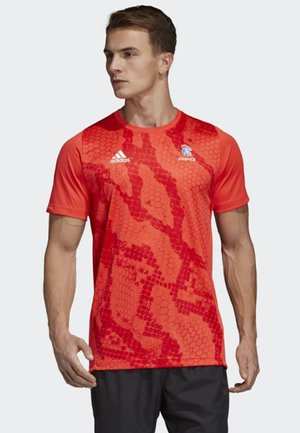 French Handball Federation Training Jersey - National team wear - red/white