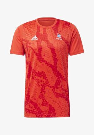 French Handball Federation Training Jersey - Landslagströjor - red/white