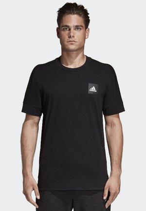 ID 3-Stripes Tee - T-shirt imprimé - black