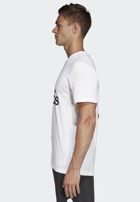 adidas Performance - Must Haves Badge of Sport Tee - T-shirt med print - white - 2