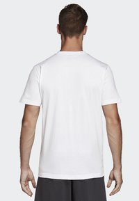 adidas Performance - Must Haves Badge of Sport Tee - T-shirt med print - white - 1