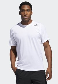 adidas Performance - FREELIFT SPORT PRIME LITE T-SHIRT - T-shirt basique - white - 0