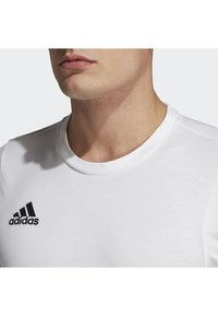 adidas Performance - TIRO 19 TEE - T-shirt basique - white - 3