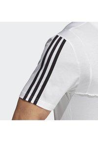 adidas Performance - TIRO 19 TEE - T-shirt basique - white - 4