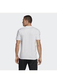 adidas Performance - TIRO 19 TEE - T-shirt basique - white - 1