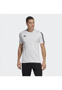 adidas Performance - TIRO 19 TEE - T-shirt basique - white - 0