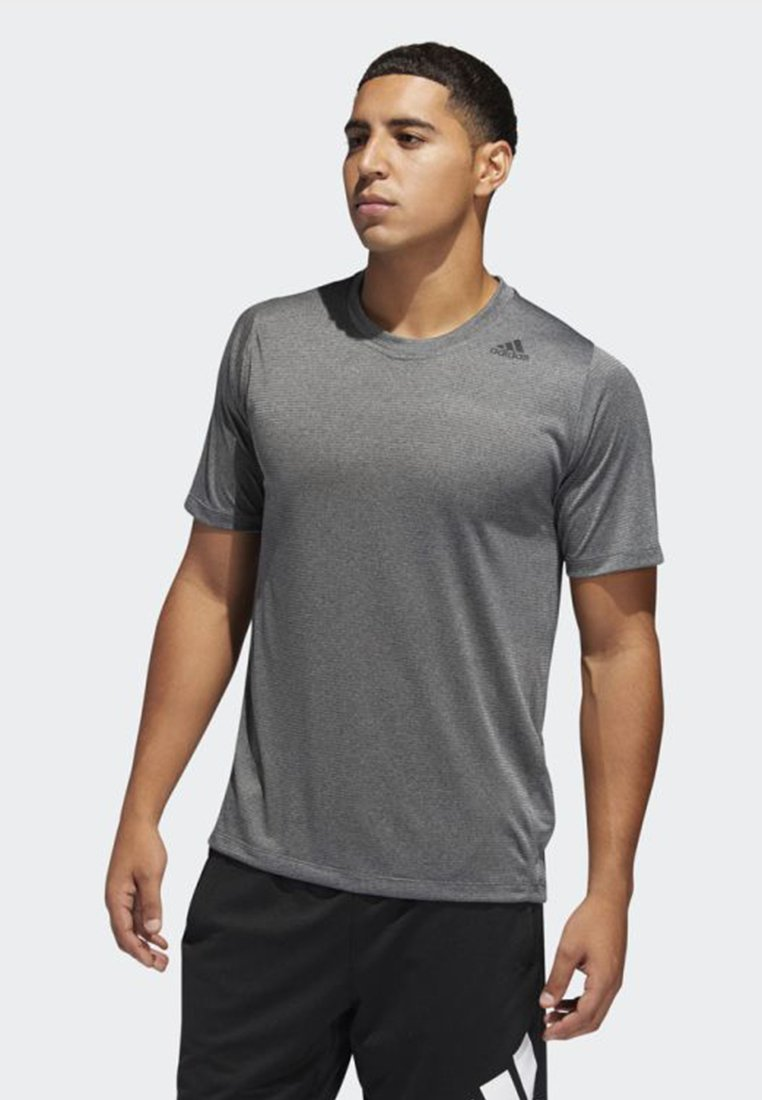 adidas Performance - FREELIFT TECH CLIMACOOL FITTED T-SHIRT - T-shirts - grey