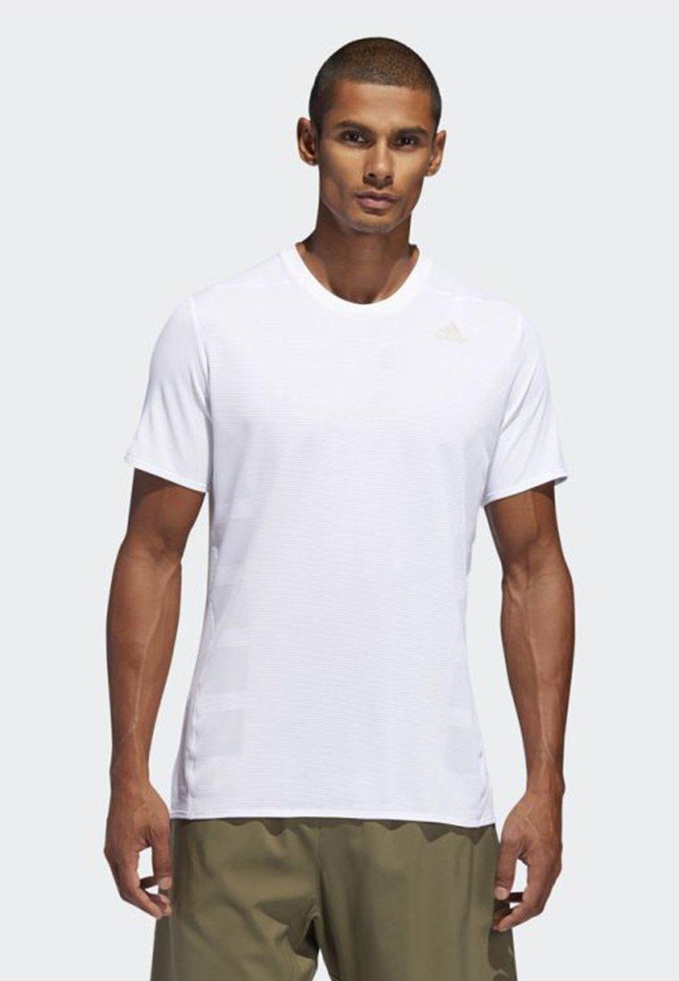 adidas Performance - SUPERNOVA - T-shirt basic - white