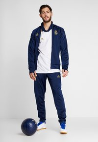 adidas Performance - REAL ICONS TOP - Klubbkläder - dark blue - 1
