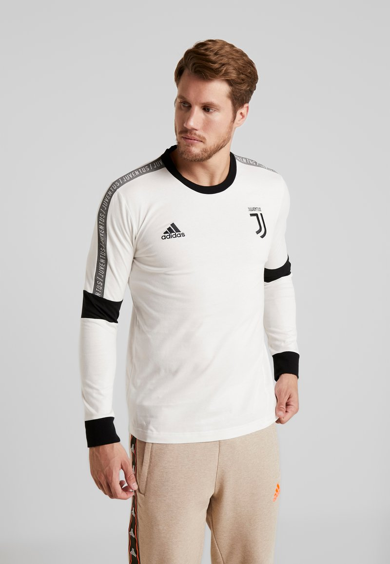 adidas Performance - JUVE TEE  - Long sleeved top - white