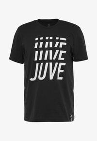 adidas Performance - JUVE TEE - Vereinsmannschaften - black - 4