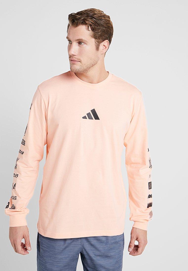 adidas Performance - ATHLETICS PACK SPORT LONG SLEEVE SHIRT - Langærmede T-shirts - rose