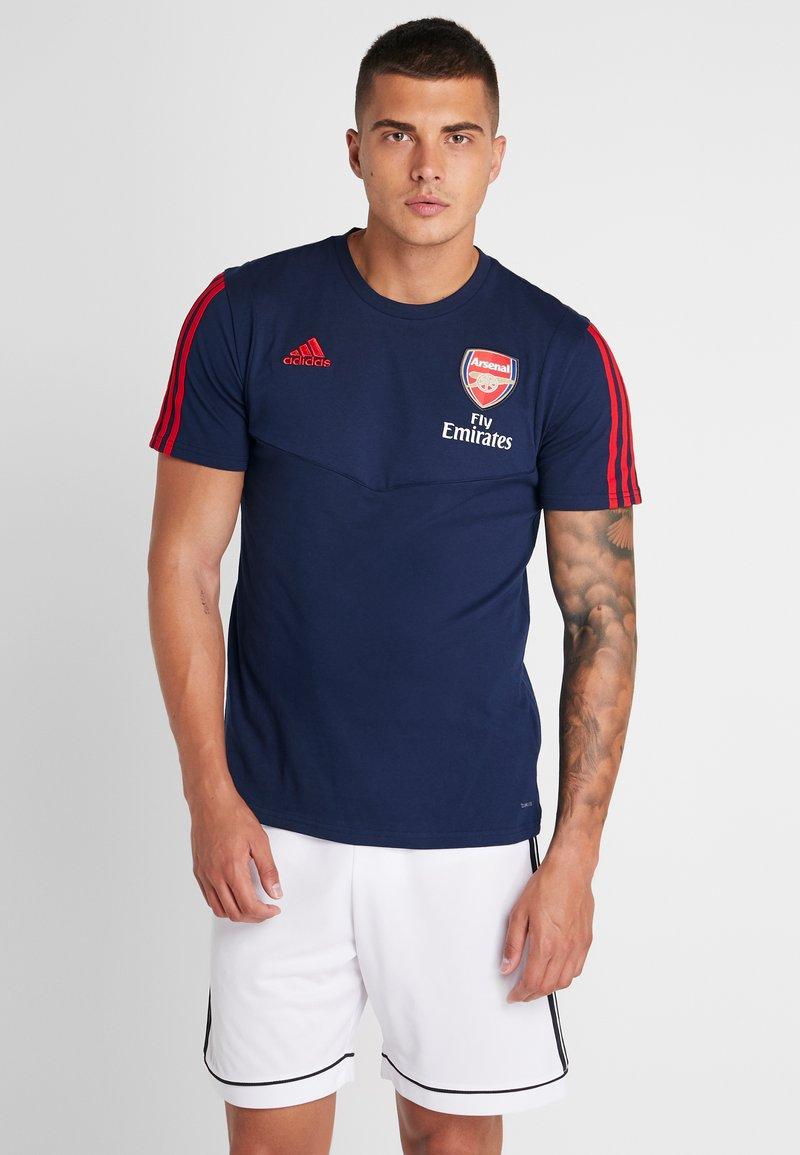 adidas Performance - ARSENAL LONDON FC TEE - Club wear - NAVY