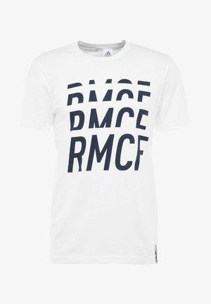 REAL TEE - Klubové oblečení - white