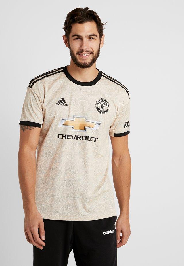 MUFC A - Club wear - tan