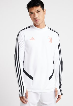 JUVENTUS TURIN TR TOP - Club wear - white/black
