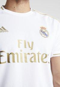 adidas Performance - REAL MADRID - Equipación de clubes - white - 5