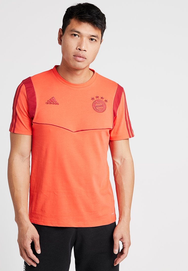 adidas Performance - FC BAYERN MÜNCHEN TEE - Club wear - bright red/active maroon