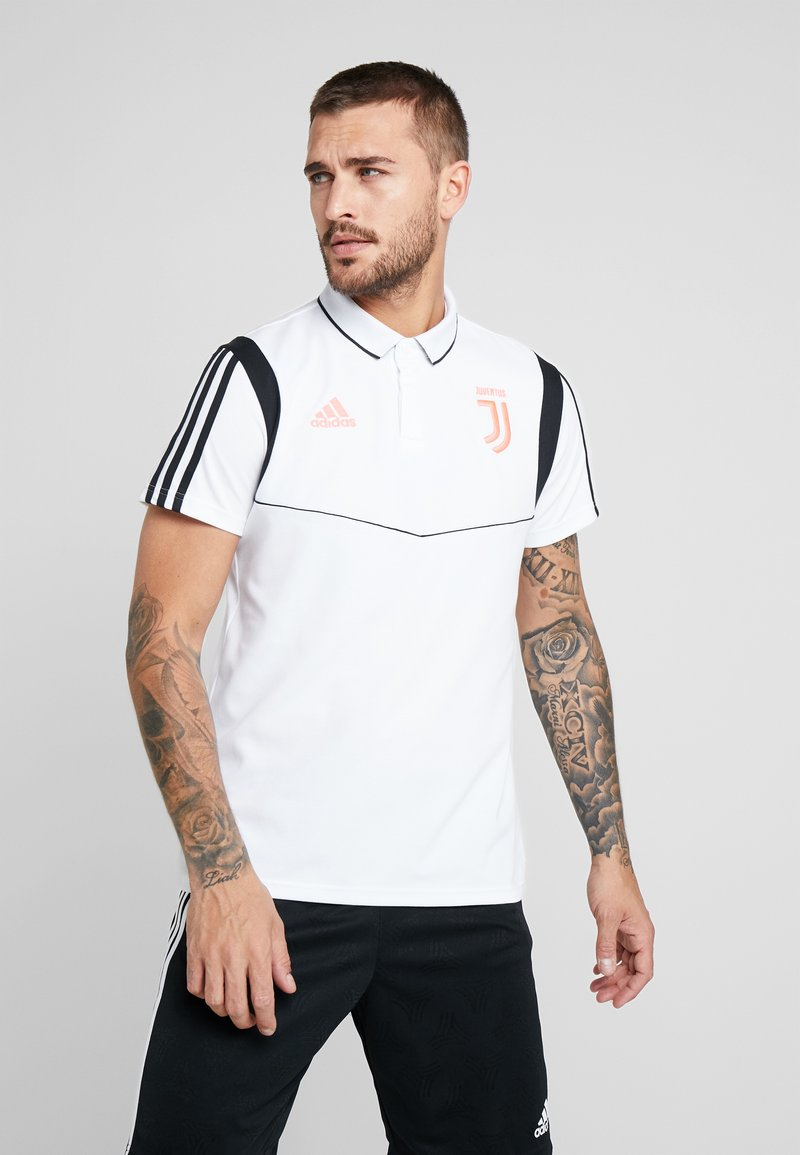 adidas Performance - JUVENTUS TURIN CO POLO - Vereinsmannschaften - white/black