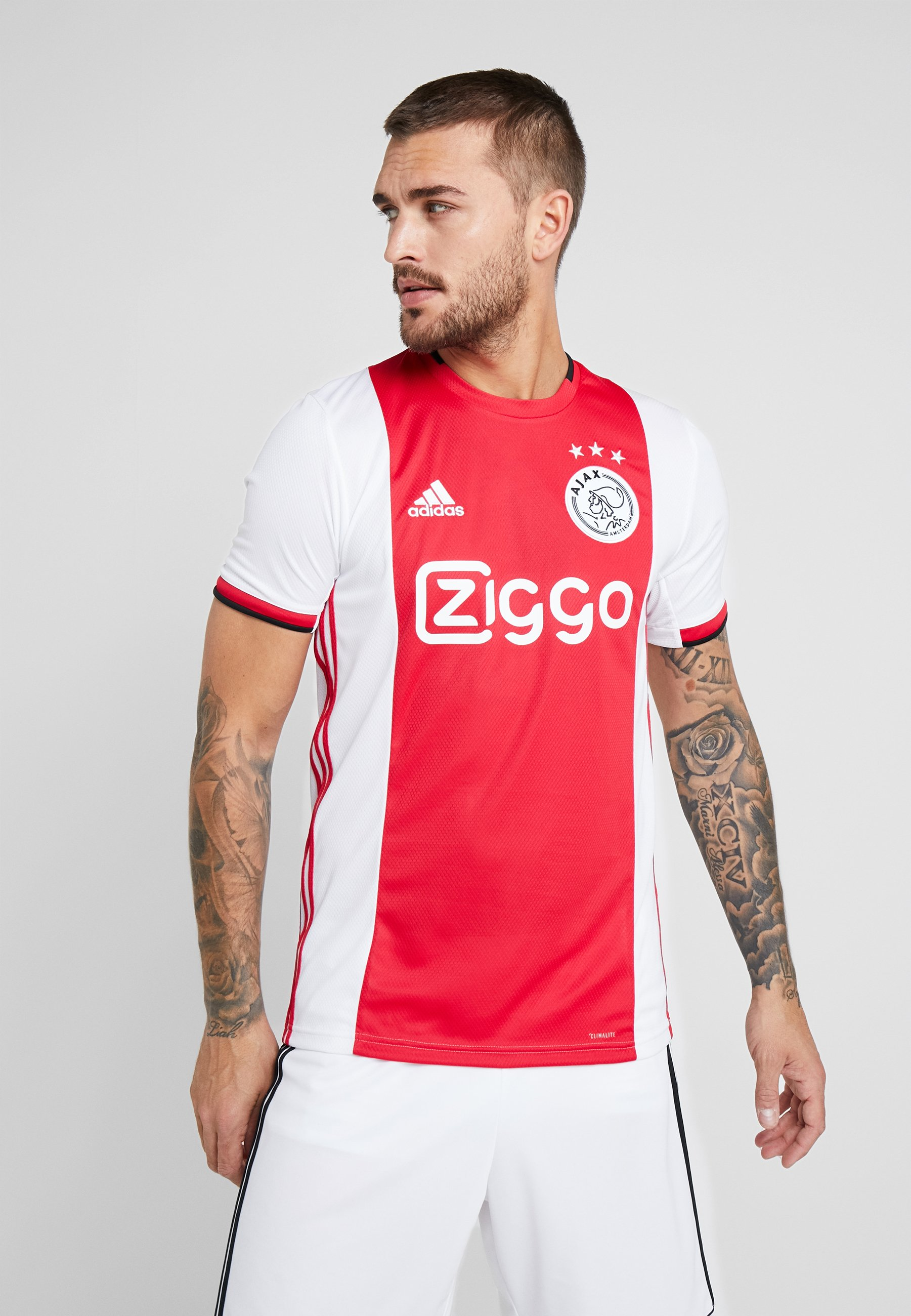 H Red De Amsterdam JsyArticle Performance Supporter white black Adidas Ajax OPTXikZu