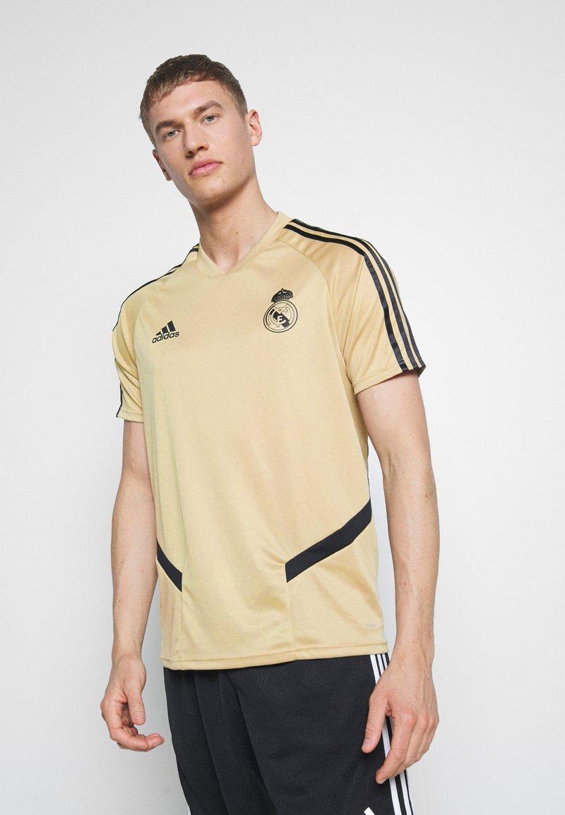 adidas Performance - REAL MADRID TR JSY - Squadra - gold/black