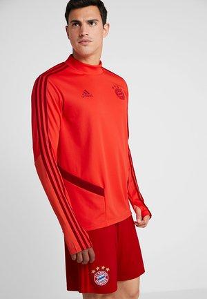FC BAYERN MÜNCHEN TR TOP - Fanartikel - bright red/activ maroon