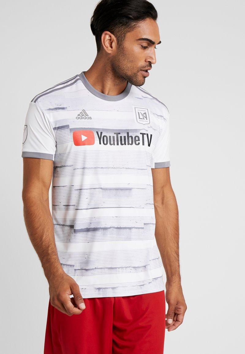 adidas Performance - T-shirt con stampa - white